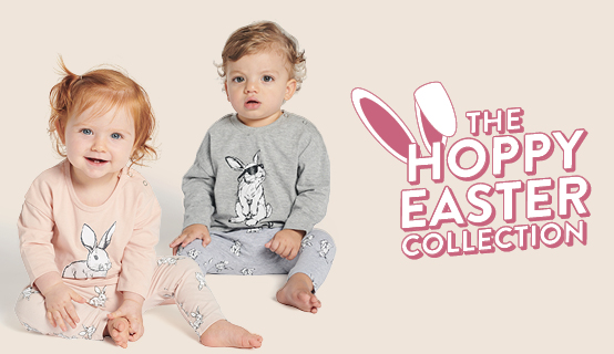 Matching pyjamas for the family this Easter