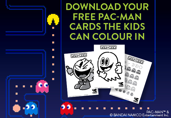 Downloadable Graphic featuring patterns from our Retro Gamer Collection