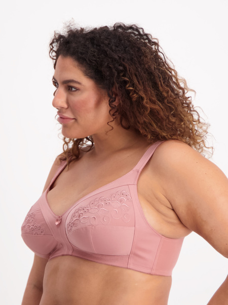 Full Figure Wirefree Anglais Bra