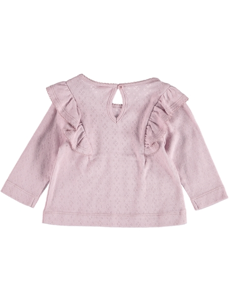 Baby Pointelle Ruffle Top