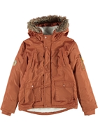 Youth Boys Fur Trim Parka