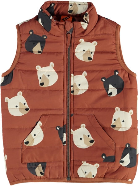 Toddler Boys Puffa Vest