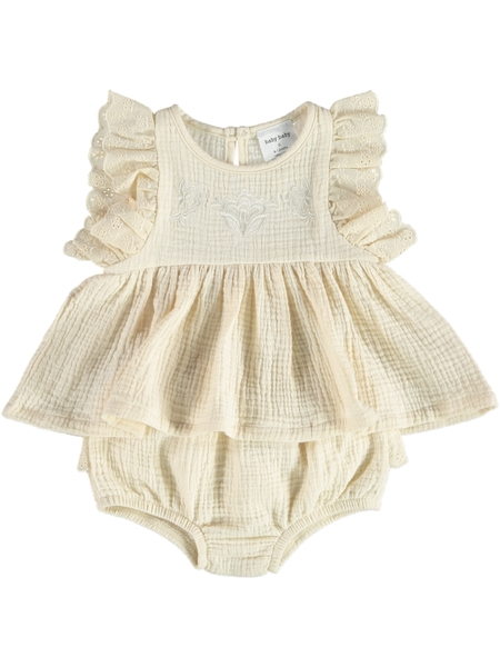 Baby Top  Bloomer Outfit Set