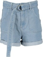 Miss Mango High Waist Denim Short