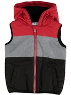 Toddler Boys Hooded Puffa Vest