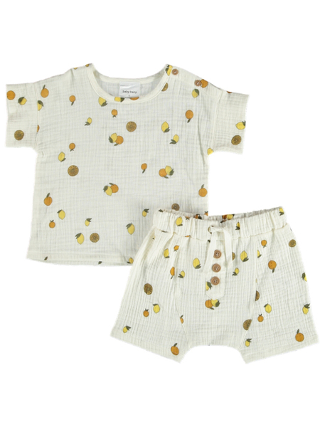 Baby Tee And Short Set