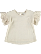 Baby Lace Sleeve Top