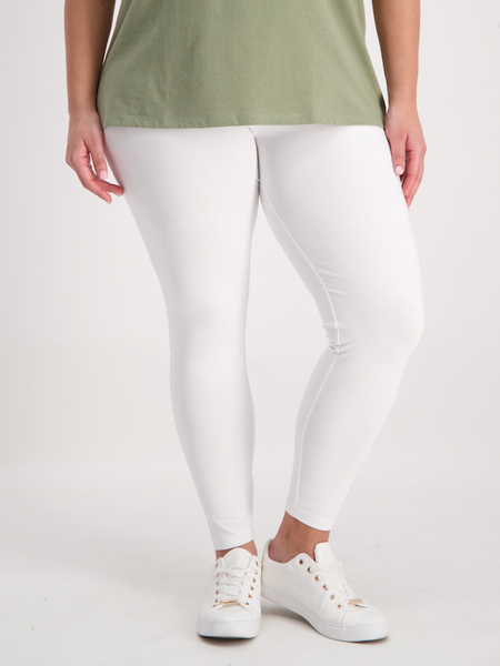 Womens Plus Long Cotton Legging