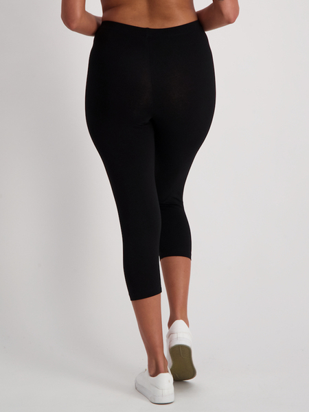 Womens Crop Cotton Legging
