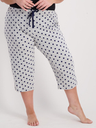 Womens 3/4 Knit Sleep Pant