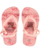 Toddler Girls Printed Basic Thongs