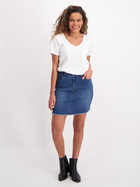 Womens Soft Touch Denim Skirt