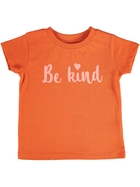Toddler Girls Short Sleeve Print Tee