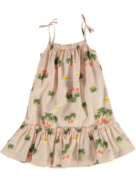 Toddler Girls Tiered Strappy Dress