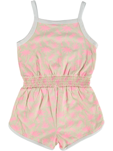 Toddler Girls Knit Shortall