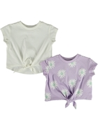 Toddler Girls 2 Pack Tops