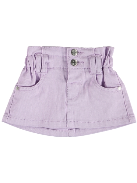 Toddler Girls Paperbag Denim Skirt