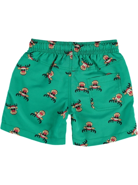 Toddler Boys Christmas Volley Short