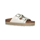 Womens Two Strap Buckle Sandal
