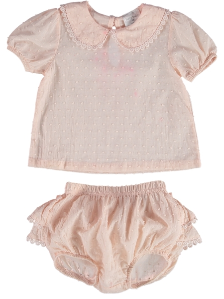Baby Top And Bloomer Outfit Set