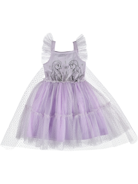 Toddler Girls Frozen Dress With Cape