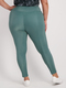 Womens Plus Ribbed 7/8 Legging