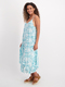 Womens Hanky Hem Dress