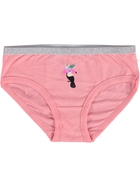 Girls Lurex Waistband Brief