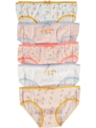 Girls 5 Pack Briefs