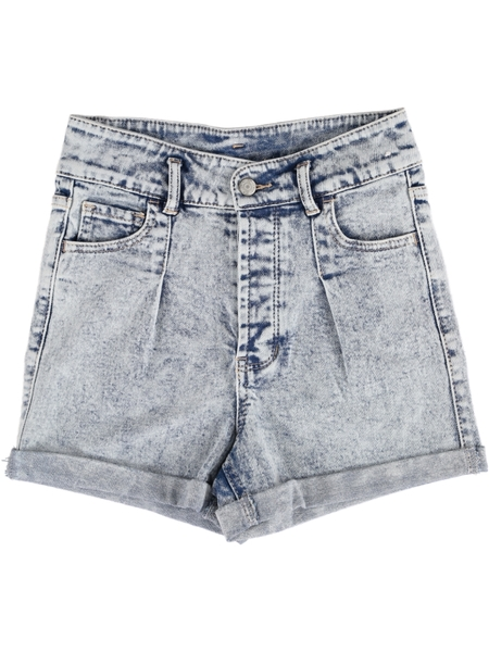 Miss Mango Acid Wash Denim Short