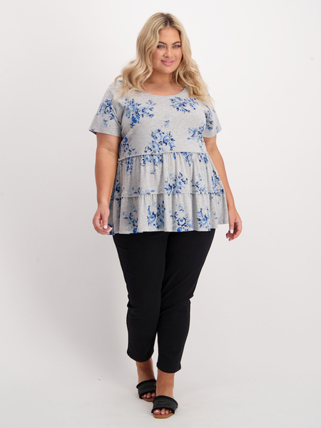 Womens Plus Babydoll Tee