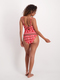Womens Christmas Ribbed One Piece