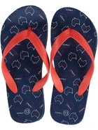 Boys Straya Print Basic Thongs