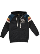 Boys Fleece Zip Thru Hoodie