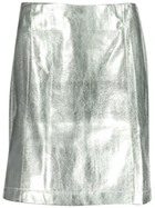 Miss Mango Metallic Skirt