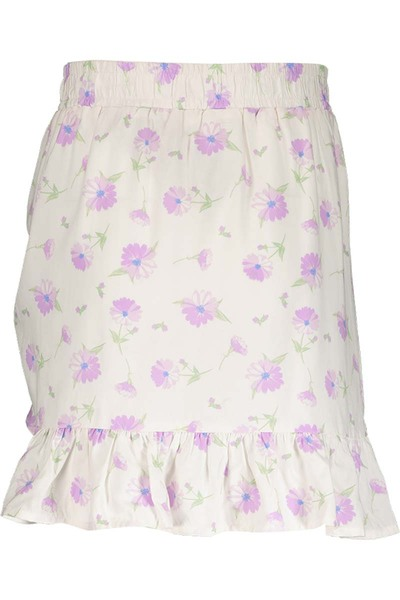 Miss Mango Floral Ruched Skirt