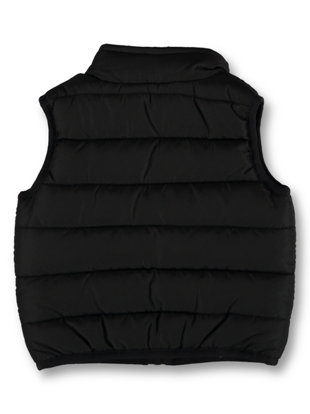 Baby Plain Puffer Zip Through Vest
