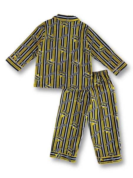Cowboys NRL Toddler Flannel Pj Set