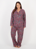 Womens Plus Flannelette Pj Set