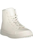 Boys White High Top