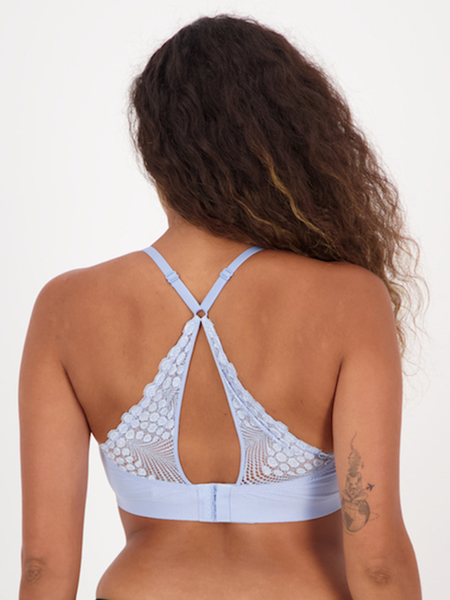 Bonded Lace Crop