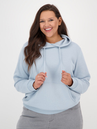 Womens Plus Pullover Fleece Hoodie