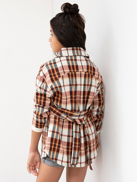 Miss Mango Flannel Shacket