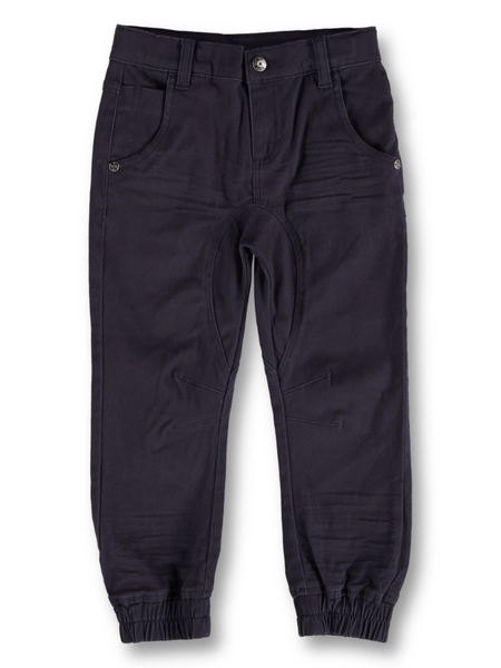 Toddler Boys Twill Jogger Pant