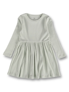 Toddler Girls Organic Rib Dress