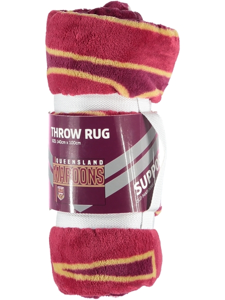 Queensland State of Origin Throw Rug