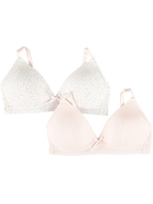 First 2Pk Wirefree Bras