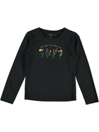 Girls Long Sleeve Print T Shirt
