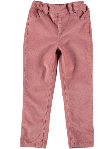 Toddler Girls Cord Pull On Pant