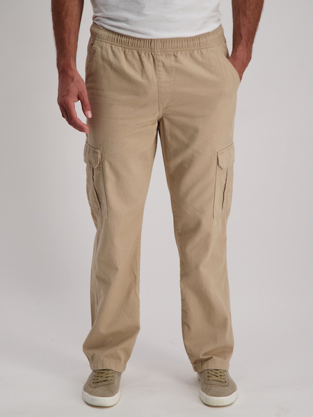 MENS PLAIN CARGO PANTS